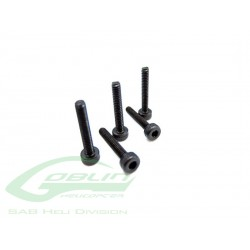 DIN 12.9 Socket Head Cap M2x12 (5pcs) - Goblin 500/630/700/770 [HC014-S]