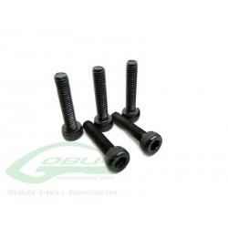 DIN 12.9 Socket Head Cap M2,5x12 (5pcs) - Goblin 500/630/700/770 [HC026-S]