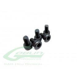 DIN 12.9 Socket Head Cap M3x6 (5pcs) - Goblin 500/630/700/770 [HC044-S]