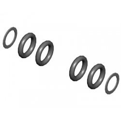 Dumper rubber set medium hard (Logo 400 - 500 SE)
