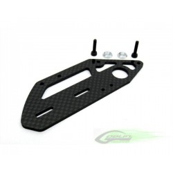 Carbon Fiber Tail Case Side (1pc) - Goblin 630/700/770 [H0047-S]