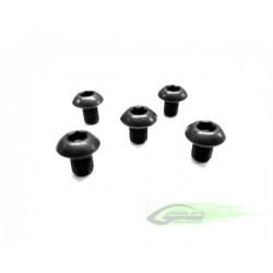 DIN 12.9 Button Head Socket Cap M3x4 (5pcs) - Goblin 630/700/770 [HC038-S]