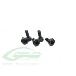 DIN 12.9 Socket Head Cap M2x6 (5pcs) - Goblin 500/630/700/770 [HC004-S]