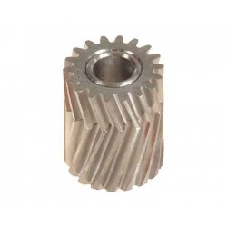 Pinion for herringbone gear 18 teeth dia 6, M0,7