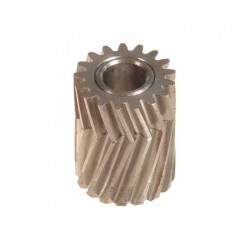 Pinion for herringbone gear 17 teeth dia 6, M0,7