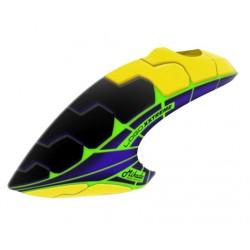 Canopy, blue-yellow (Logo 800 XXTREME)