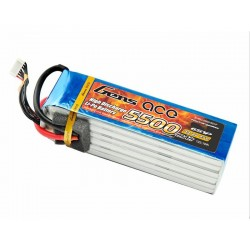 Gens ace 5500mAh 22.2V 45C 6S1P Lipo Battery Pack