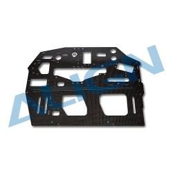 800E DFC Carbon Main Frame(R)/2.0mm H80B006XXW (T-rex 800)