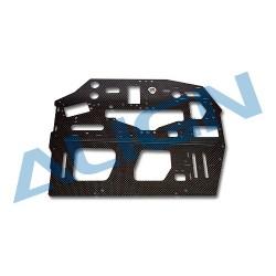 800E DFC Carbon Main Frame(L)/2.0mm H80B005XXW (T-rex 800)