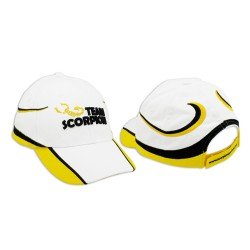 Scorpion Motor Cap (White/Yellow)