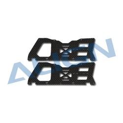 Sport V2 Carbon Main Frame(L) set H45148 (T-rex 450 SPORT)