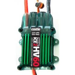 Castle Creations Phoenix Ice HV2 60A 50V Fartreglage (6-12S)