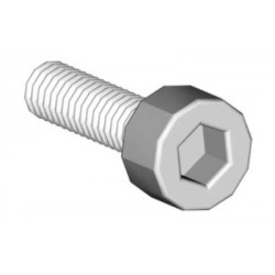 Socket head cap screw M2,5x12