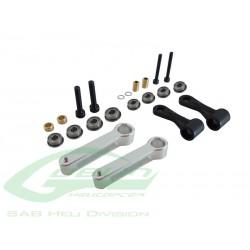 Aluminum Radius Arm HPS - Goblin 500 [H0204-S]