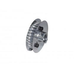 Aluminum Main Pulley Z18 - Goblin 500 [H0218-S]