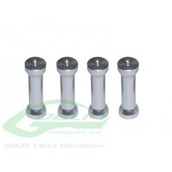 Aluminum Frame Support (4pcs) - Goblin 500 [H0263-S]