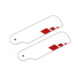 SpinBlades Red Tip tail blades 105
