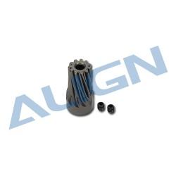 Motor Pinion Helical Gear 11T H50179 (T-rex 500PRO)