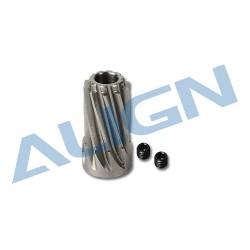Motor Pinion Helical Gear 10T H55G001XXW (T-rex 550)