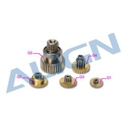 DS515 Servo Gear Set HSP51502