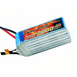 Gens ace 2600mAh 22.2V 60C 6S1P Lipo Battery Pack