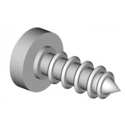 Self tapping screw 2,2x13