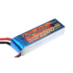 Gens ace 2200mAh 11.1V 30C 3S1P Lipo Battery Pack