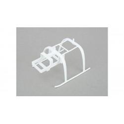 White Landing Gear: mCP X BL BLH3905W