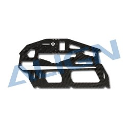 Carbon Main Frame(R) / 2mm H70042A (T-rex 700)