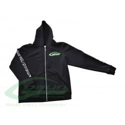 SAB HELI DIVISION Black Hoodies - Size M [HM029-M]