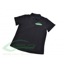 SAB HELI DIVISION Black Polo Shirt - Size S [HM027-S]
