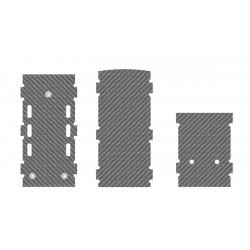 RC/ESC Mounting Frames, 1mm, LOGO 700 XXtreme