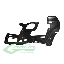 Carbon Fiber 2mm Main Frame (1pc) - Goblin 700 Competition [H0354-S]