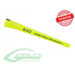 Carbon Fiber Tail Boom Yellow - Goblin 630 Competition [H0363-S]