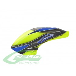 Canomod Airbrush Canopy Yellow/Blue - Goblin 700/770 Competition [H0381-S]